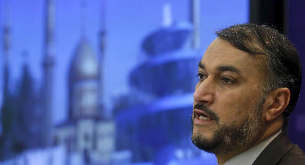 Amir Abdollahian, viceministro de Exteriores de Irán