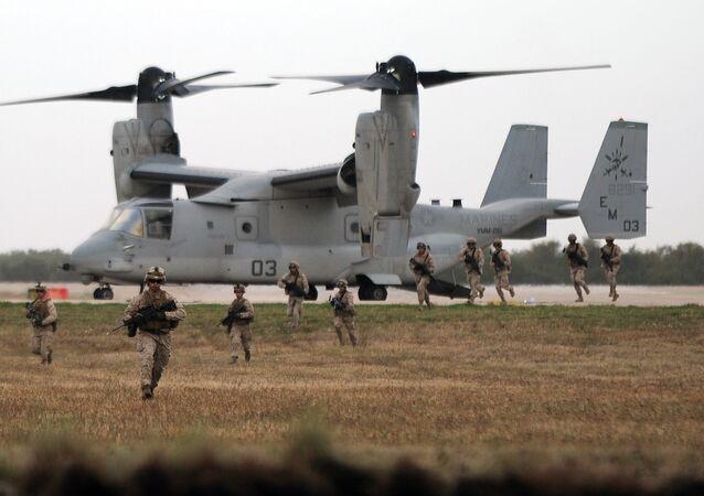 Base militar de Morón de la Frontera, España