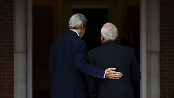 Secretario de Estado de EEUU, John Kerry y ministro de Exteriores de España, José Manuel García-Margallo - Sputnik Mundo