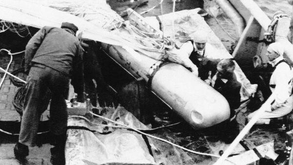 Bobma nuclear envuelta en incidente de Palomares (Archivo) - Sputnik Mundo