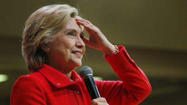 Hillary Clinton, precandidata presedencial de EEUU - Sputnik Mundo