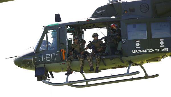 Ejercicios de la OTAN en Italia - Sputnik Mundo