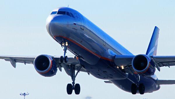 Avión de la compañía aérea rusa Aeroflot - Sputnik Mundo