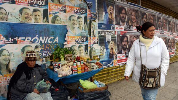 Propaganda política en la Matanza, provincia de Buenos Aires - Sputnik Mundo