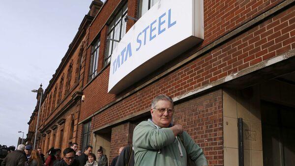 Empleados de Tata Steel en Escocia - Sputnik Mundo