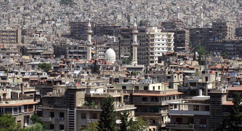 Damasco, la capital de Siria (archivo)
