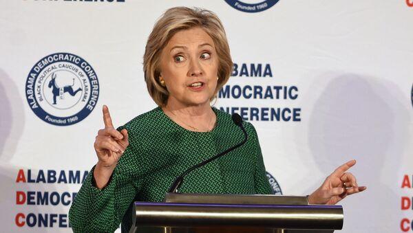 Hillary Clinton, candidata del Partido Demócrata a la presidencia de EEUU - Sputnik Mundo