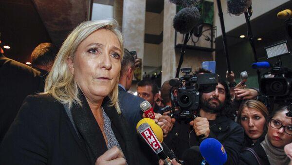 Marine Le Pen, líder del Frente Nacional - Sputnik Mundo