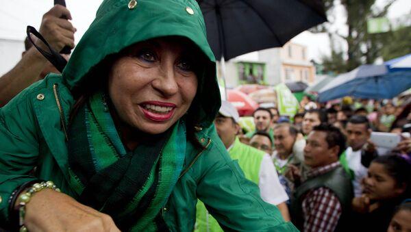 Sandra Torres, candidata presidencial de la guatemalteca Unidad Nacional de la Esperanza (UNE) - Sputnik Mundo