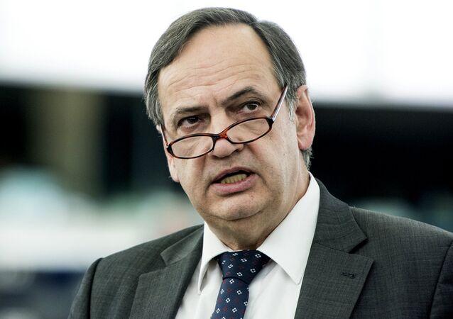 Knut Fleckenstein, vicepresidente del grupo socialista en el Parlamento Europeo
