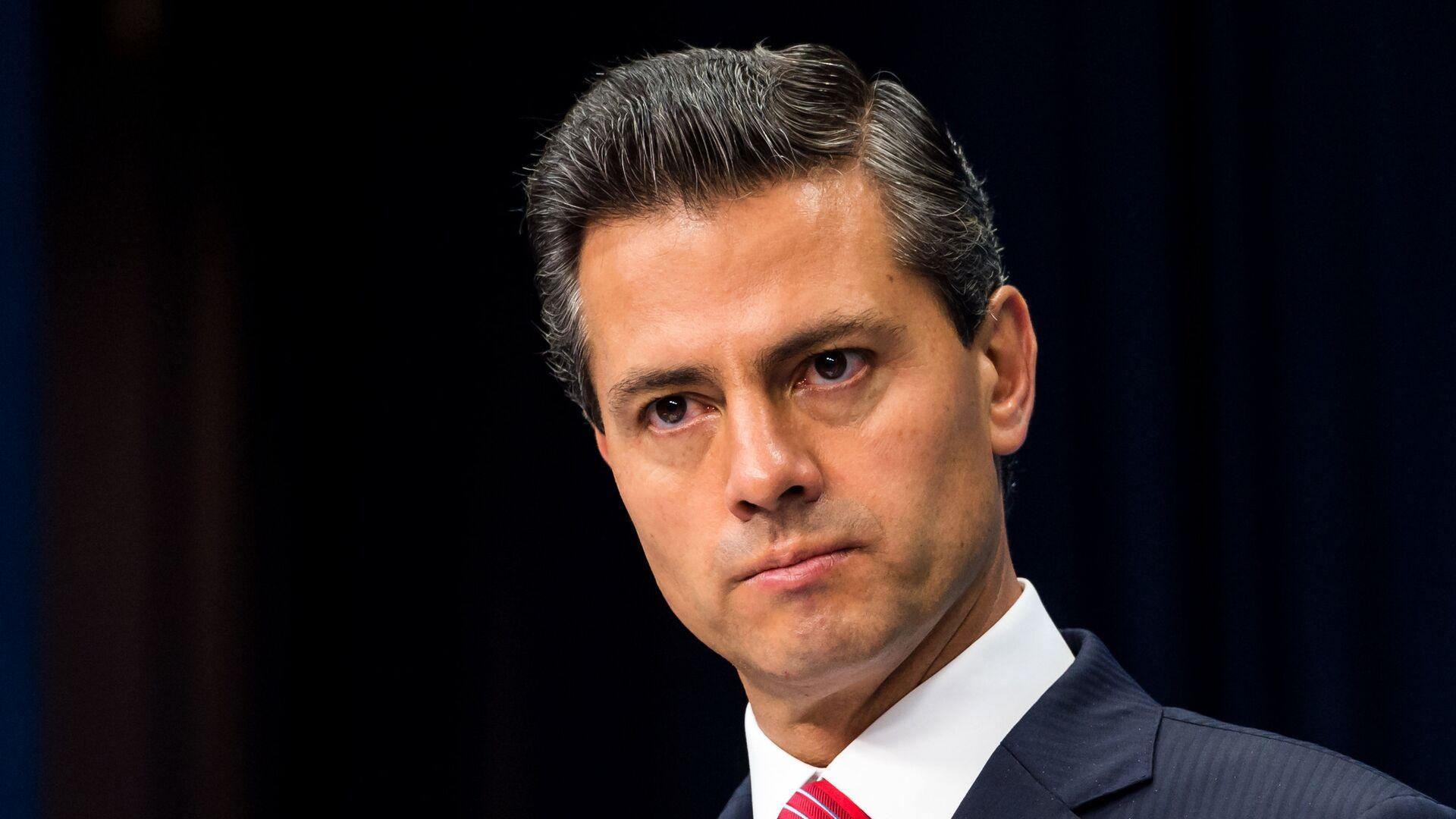Enrique Peña Nieto, expresidente de México - Sputnik Mundo, 1920, 21.05.2021