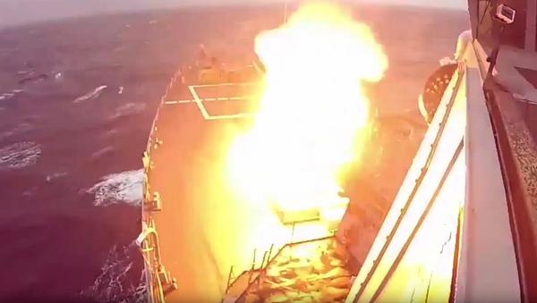 Lanzamiento del misil interceptor SM-3 Block IA - Sputnik Mundo