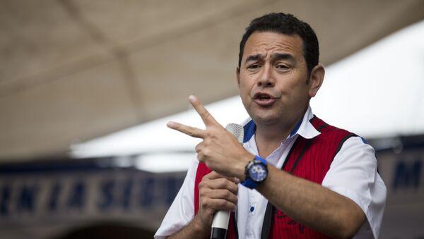 Jimmy Morales, presidente de Guatemala (archivo) - Sputnik Mundo