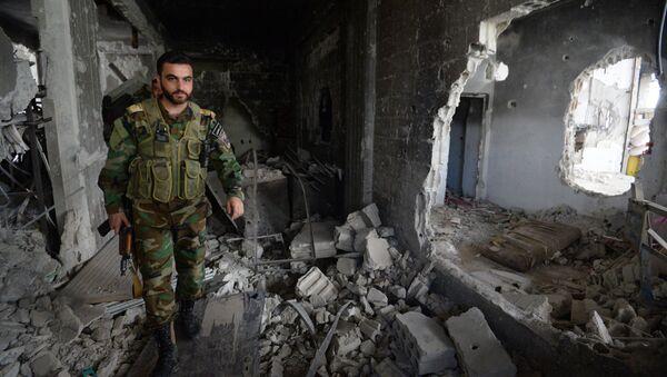 Prolongado por 72 horas el régimen de calma en Daraya, gobernación de Damasco - Sputnik Mundo