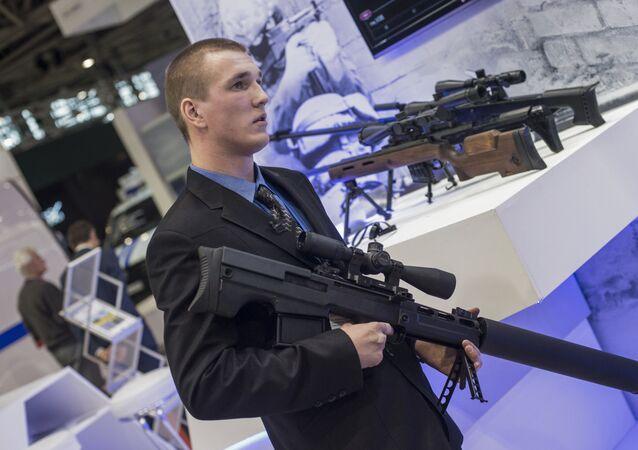 Exposición internacional Interpolitech-2015 en Moscú