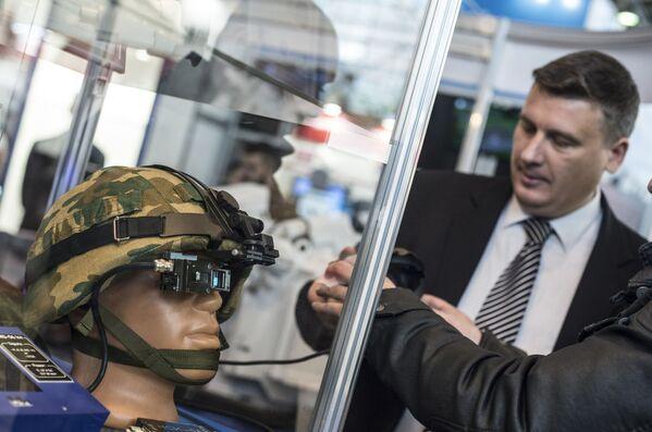 Exposición internacional Interpolitech-2015 en Moscú - Sputnik Mundo