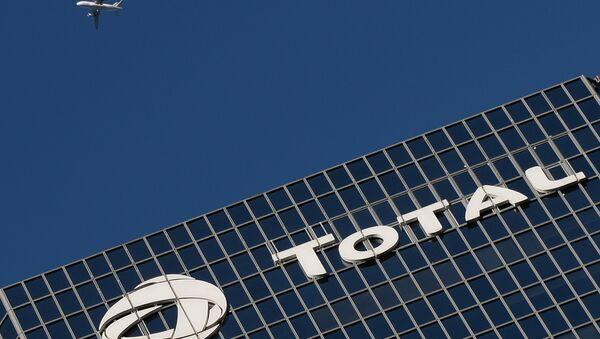 La sede de la compañía francesa Total  - Sputnik Mundo