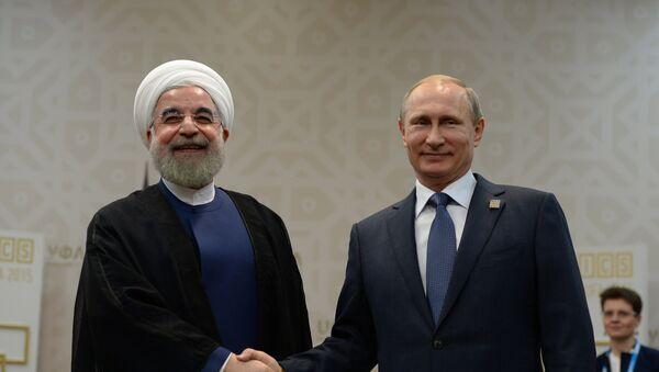 Беседа Президента Российской Федерации Владимира Путина с Президентом Ирана Хасаном Рухани - Sputnik Mundo