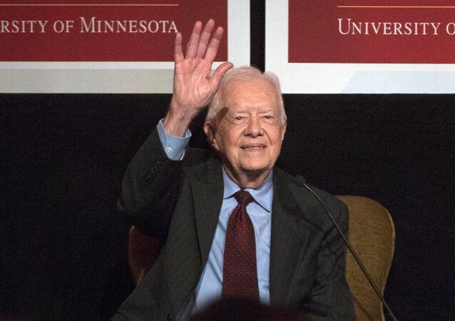 Jimmy Carter, expresidente de EEUU