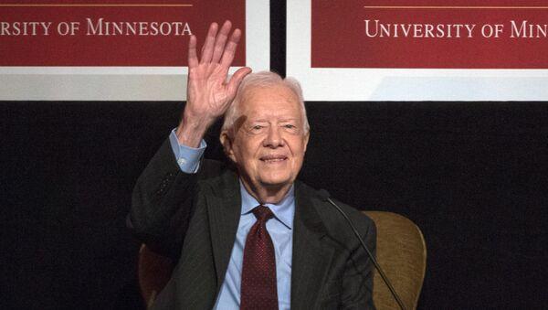 Jimmy Carter, expresidente de EEUU - Sputnik Mundo