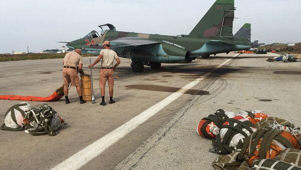 Su-25 en Siria - Sputnik Mundo