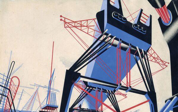 Yakov Chérnijov. Fantasía arquitectónica - Sputnik Mundo