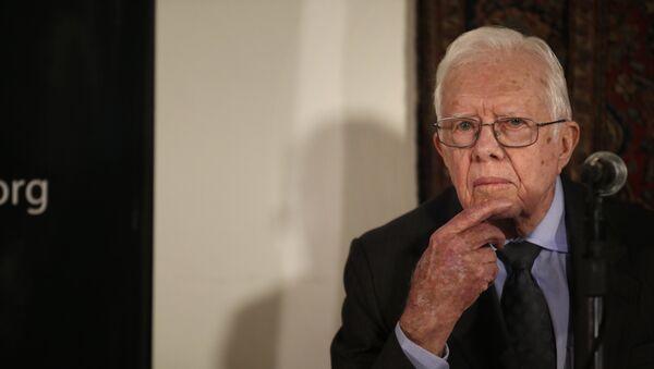 Former US president Jimmy Carter - Sputnik Mundo