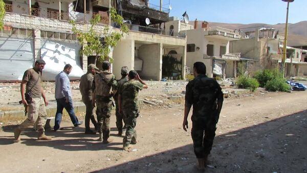 El Ejército sirio recupera una localidad en Damasco (archivo) - Sputnik Mundo
