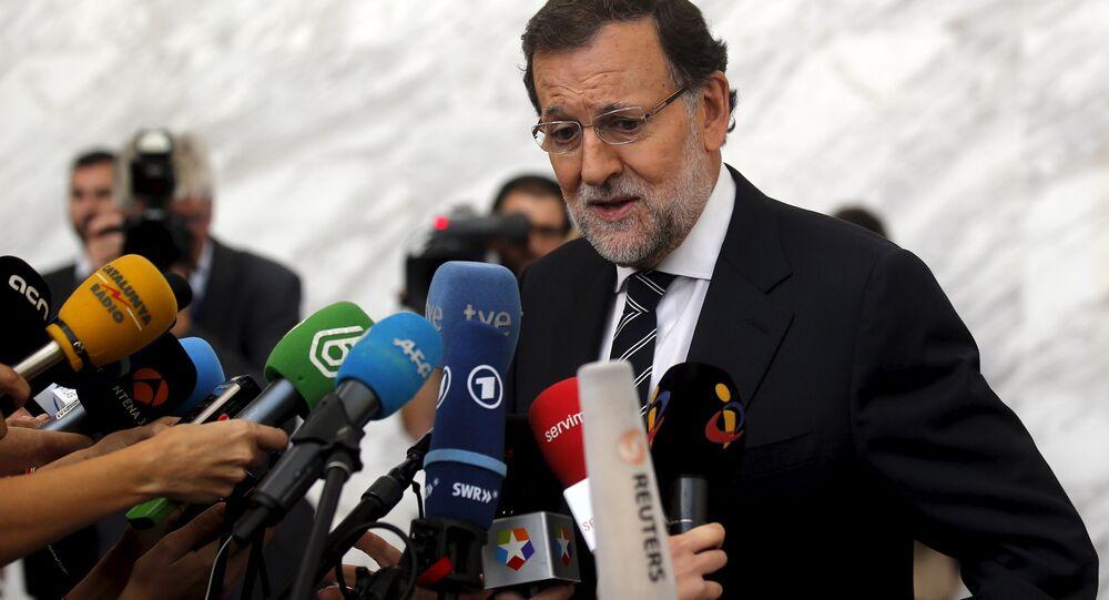Mariano Rajoy en el Congreso del Partido Popular Europeo