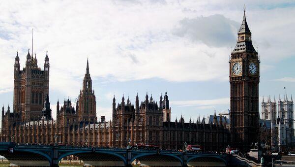 Palacio de Westminster, la sede del Parlamento del Reino Unido - Sputnik Mundo
