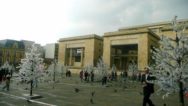 Palacio de Justicia en Bogotá - Sputnik Mundo