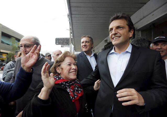 Sergio Massa, exfuncionario y exlegislador argentino (archivo)
