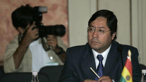 Luis Arce Catacora, ministro de economía de Bolivia - Sputnik Mundo