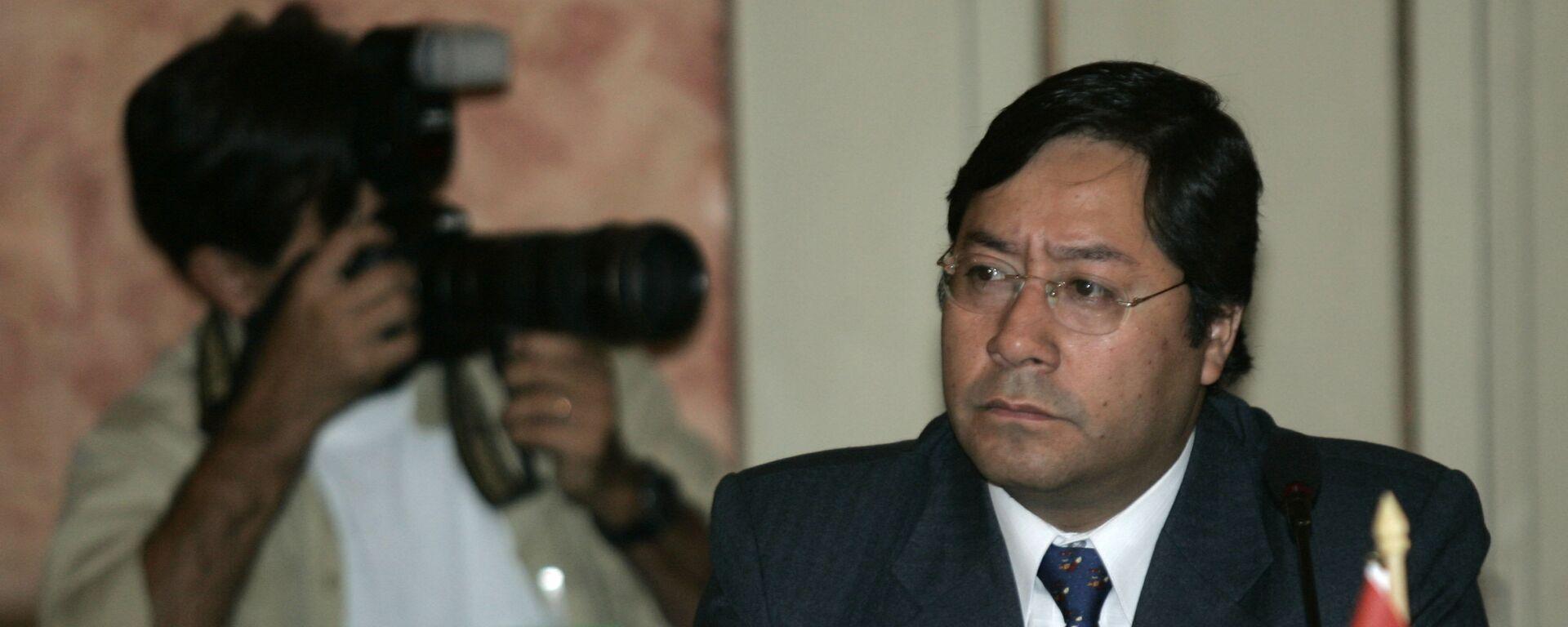 Luis Arce Catacora, exministro de Economía de Bolivia - Sputnik Mundo, 1920, 04.08.2021