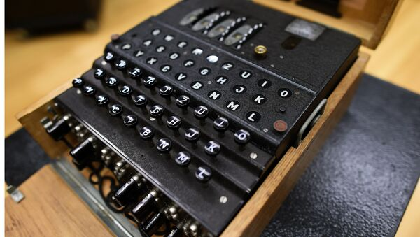 La máquina de descifrado Enigma - Sputnik Mundo