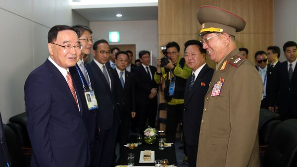 Negociaciones intercoreanas - Sputnik Mundo