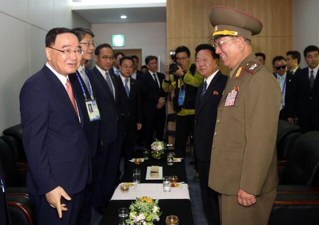 Negociaciones intercoreanas