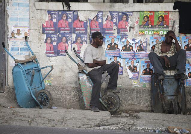 Antes de las elecciones en Haití