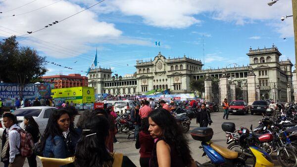 Palacio Nacional en Guatemala - Sputnik Mundo