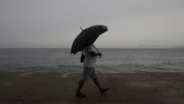 Ciclón que azota a Uruguay y Argentina - Sputnik Mundo