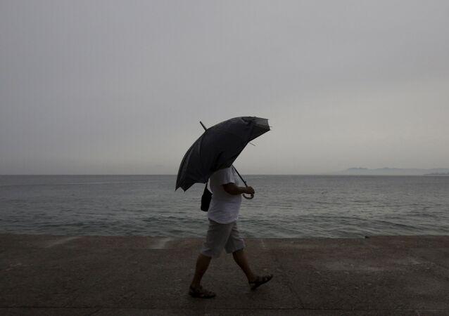 Huracán Patricia se acerca a Puerto Vallarta