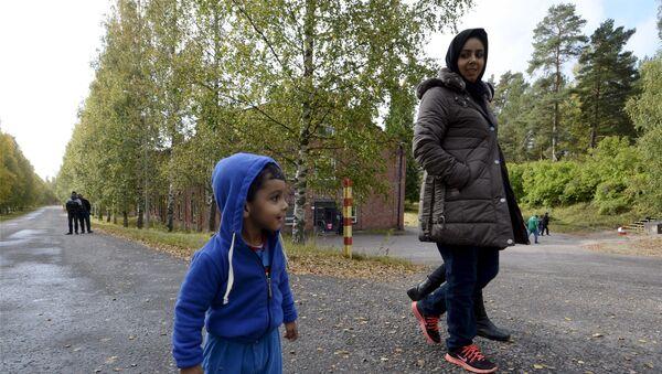 Refugiados iraquíes en Lahti, Finlandia - Sputnik Mundo