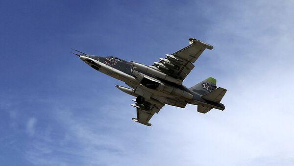 Caza ruso Su-25 en Siria - Sputnik Mundo