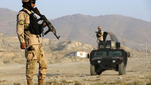 Policía de Afganistán en Kabul - Sputnik Mundo