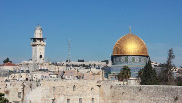 La Cúpula de la Roca en la Explanada de las Mezquitas, la Ciudad Vieja de Jerusalén - Sputnik Mundo