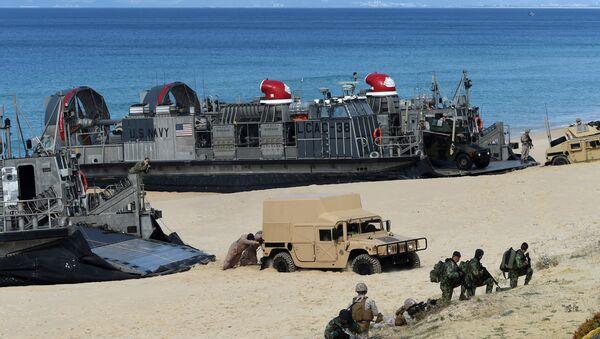 Las tropas de la OTAN en las costas de Portugal - Sputnik Mundo
