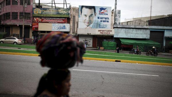 La batalla anticorrupción interesa más en Guatemala que los comicios - Sputnik Mundo