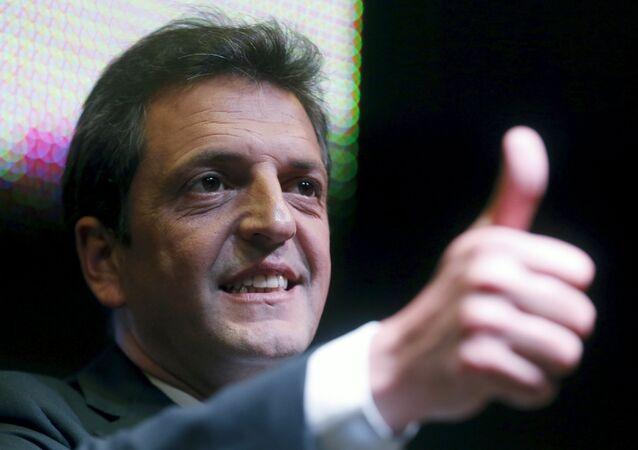 Sergio Massa, candidato presidencial