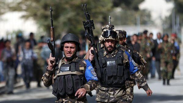 Fuerzas de seguridad de Afganistán (Archivo) - Sputnik Mundo