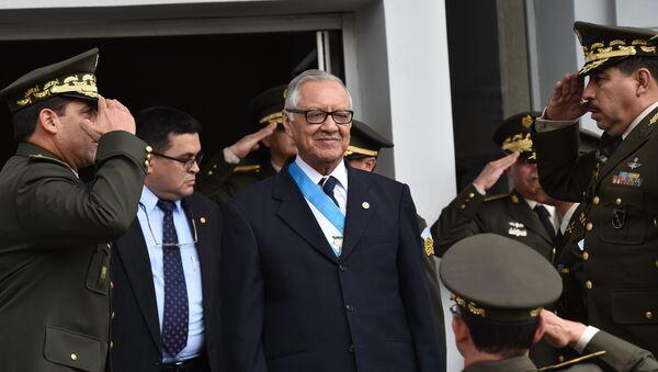 Alejandro Maldonado, presidente interino de Guatemala - Sputnik Mundo